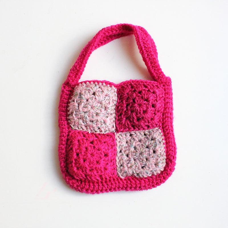 Crochet Patchwork Bag