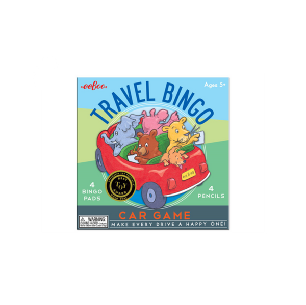 Eeboo Bingo Travel Game