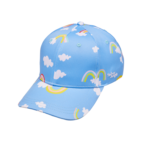 Yellow Jungle Swim Cap - Magic Rainbow