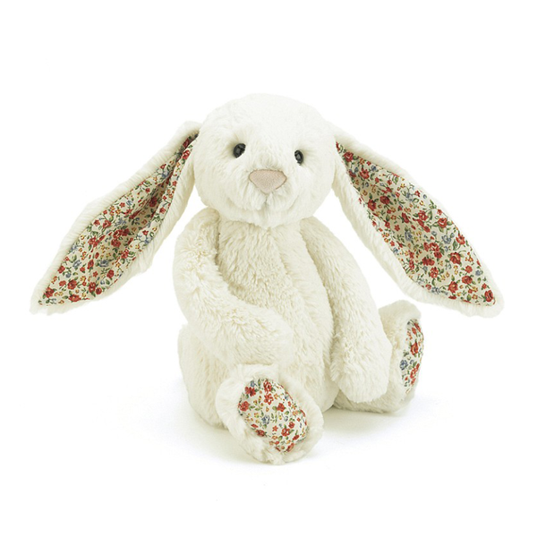 Jellycat Blossom Bashful Bunny Cream Medium