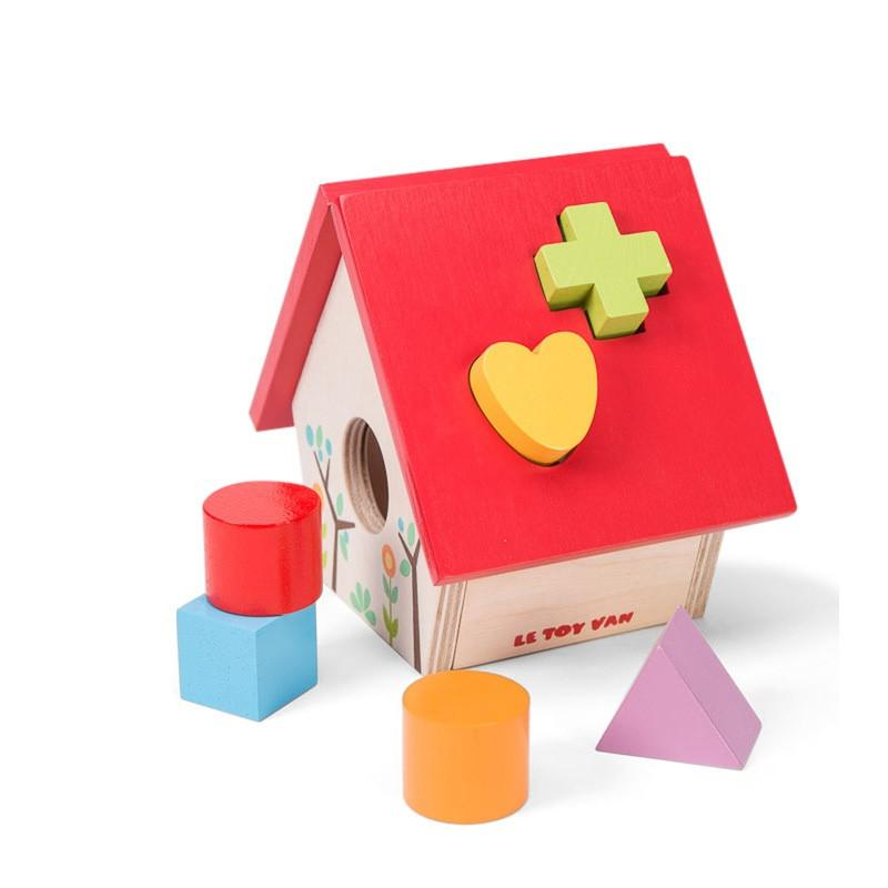 Petilou My Little Birdhouse Shape Sorter
