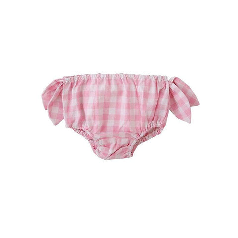 Peggy-Lux Nappy Cover - Pink Check at Shorties