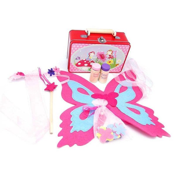 Fairy Playset in Tin Case