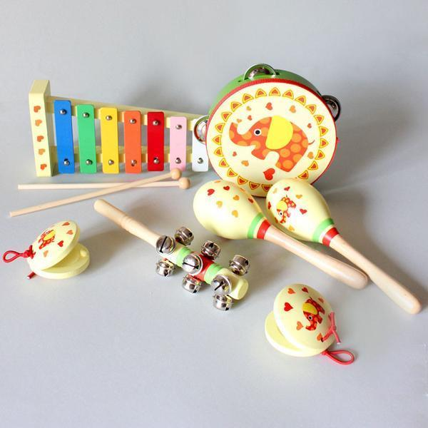 Owl 7 Piece Musical Set
