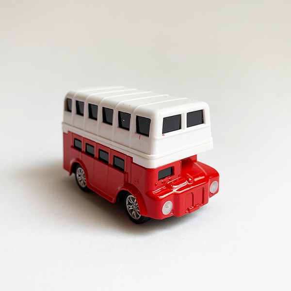 Die Cast Car - Red Doubledecker Bus