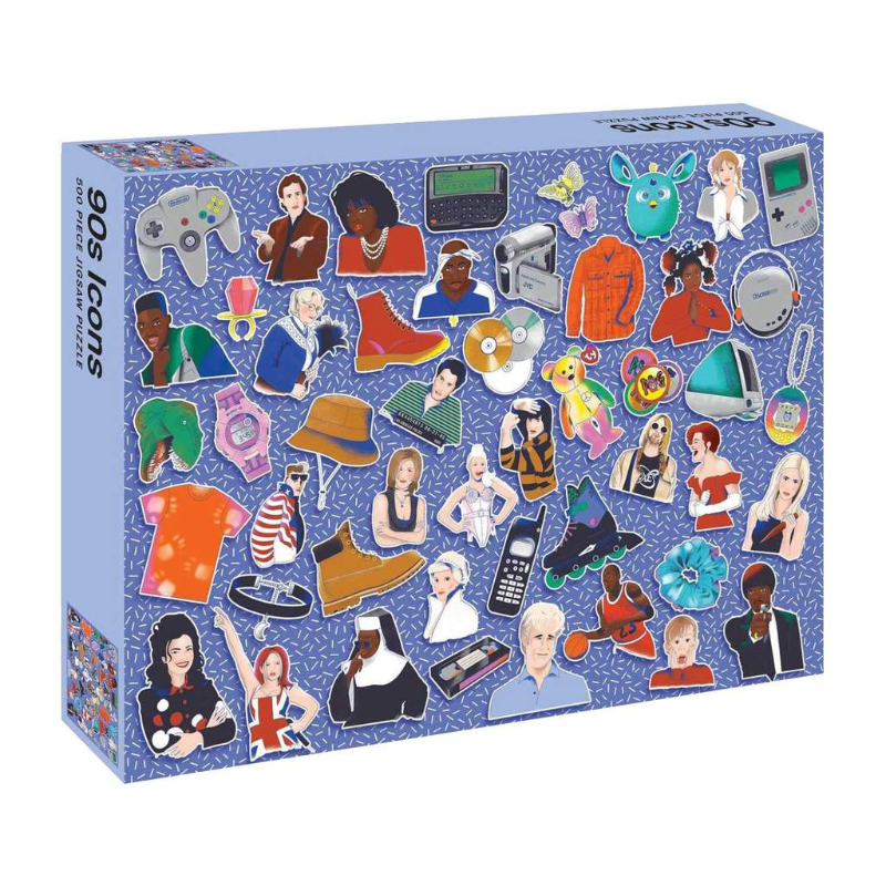 90s Icons 500 PC Puzzle