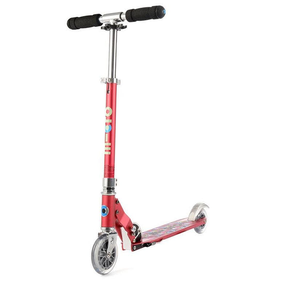 Micro Sprite Scooter - Raspberry Floral Dot
