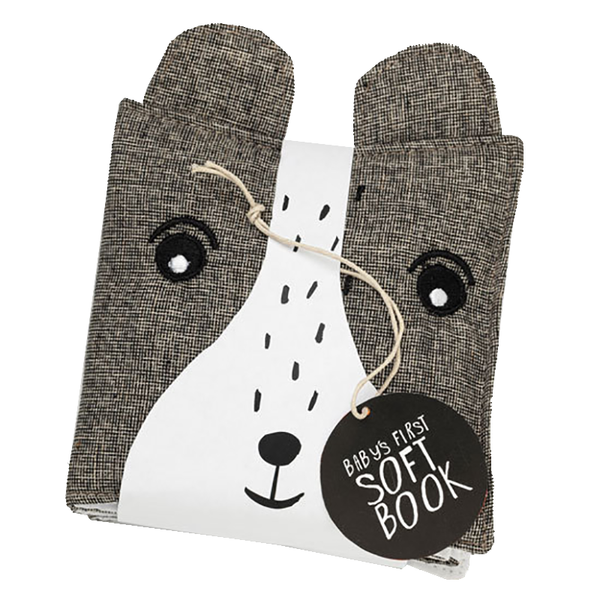 Wee Gallery Cloth Books - Bear/Friendly Faces In Wild