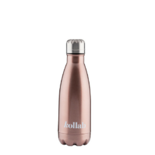 Kollab Flask 350ML - Gloss Rose Gold