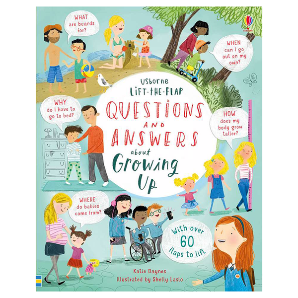 Life-The-Flap Questions & Answers About Growing Up