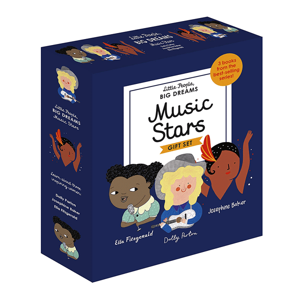 Music Stars A Little People, Big Dreams Box Set