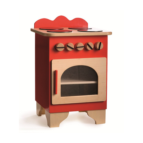 Egmont Wooden Cooker - Red