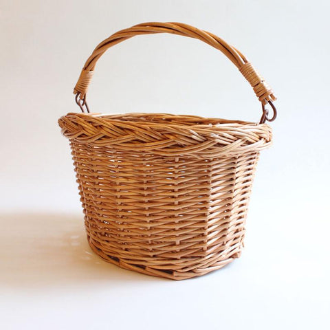 Straw Bicycle Basket