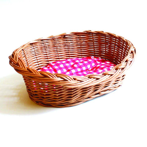 Straw Dog Basket