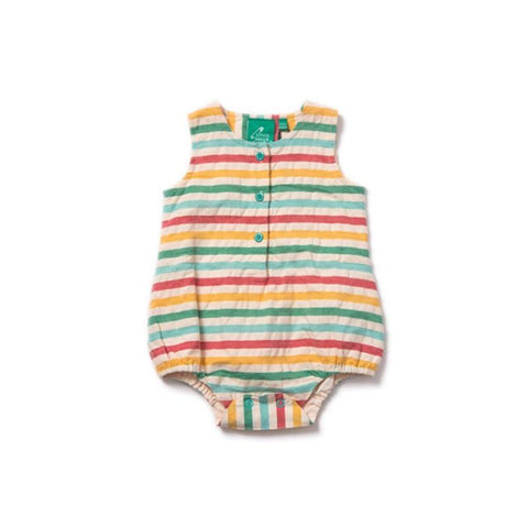 Little Green Radicals Seersucker Bodysuit - Beach Hut
