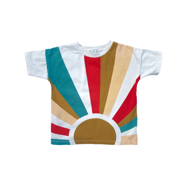 Goldie & Ace Sunrise T-Shirt - White