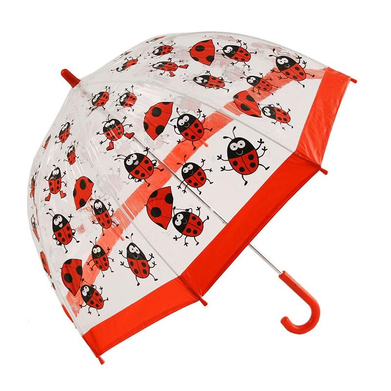 Cliftons Birdcage Umbrella - Lady Bugs - Shorties Childrens Store