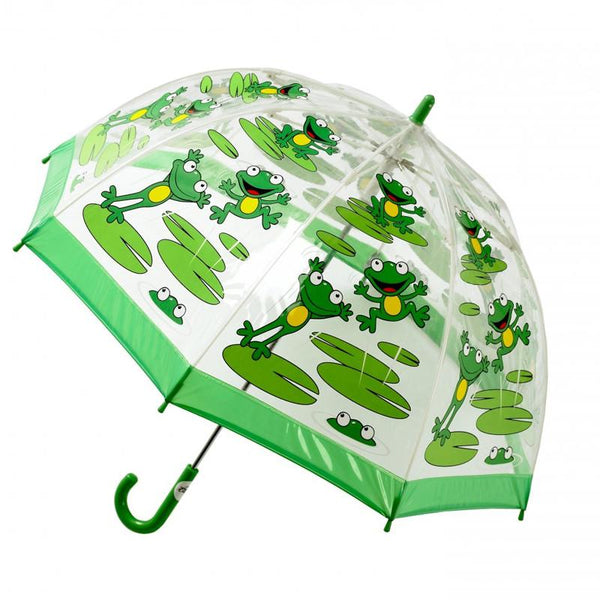 Cliftons Birdcage Umbrella - Frogs - Shorties Childrens Store
