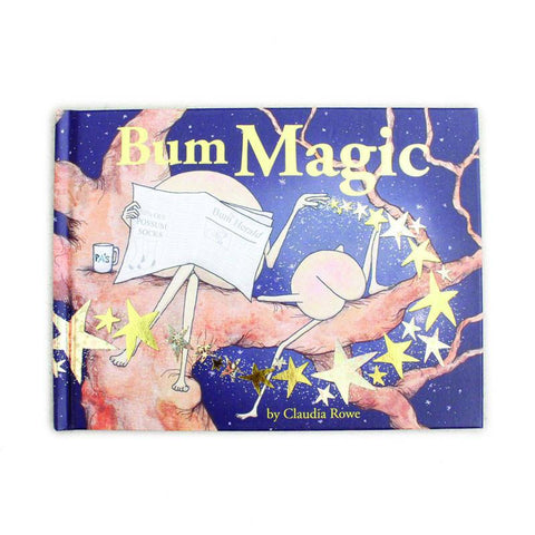 Bum Magic - Hardcover - Shorties Childrens Store