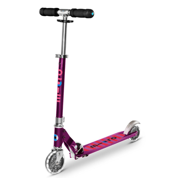 Micro Sprite Scooter - Purple Stripe LED