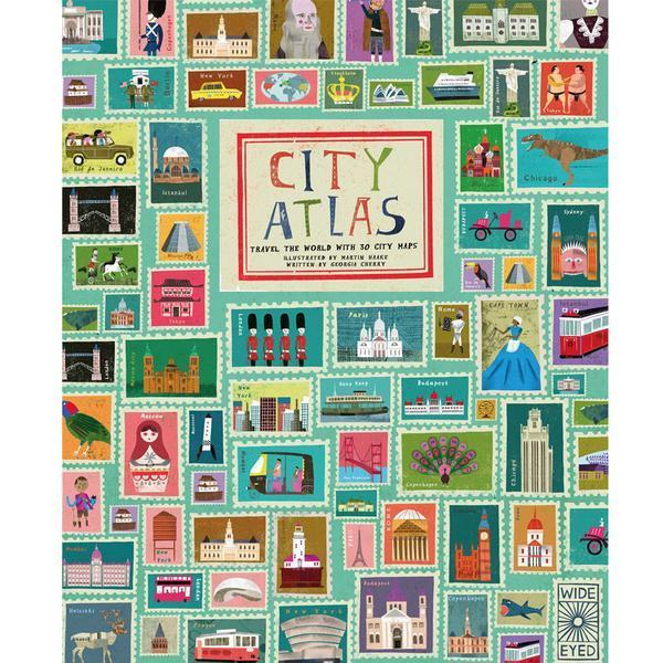 City Atlas - Travel The World With 30 City Maps
