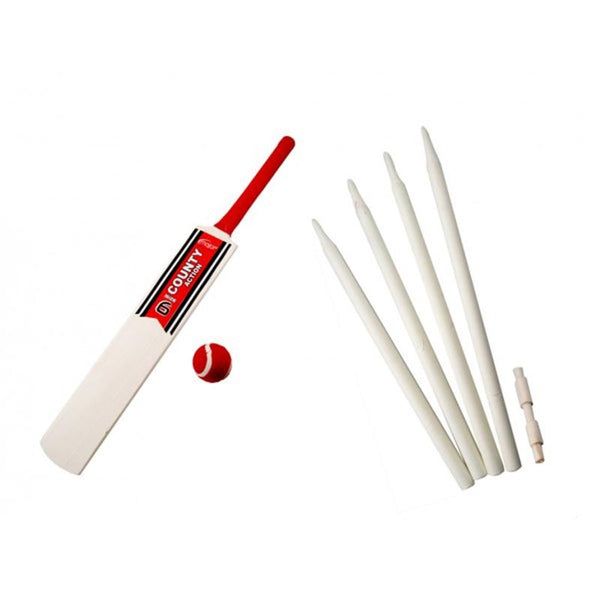 Wooden Cricket Bat Set Size 6 Outdoor fun at the park or beach