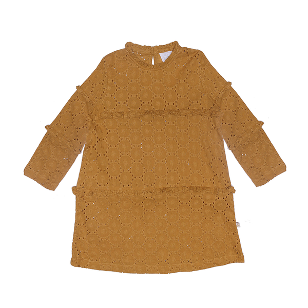 Alex And Ant Carter Dress - Mustard