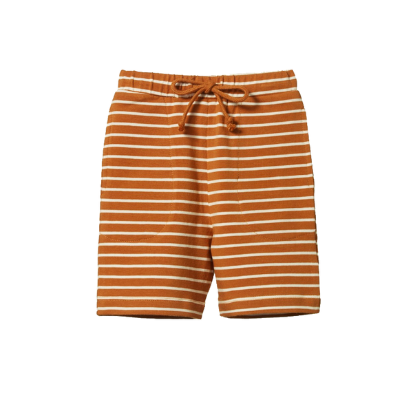 Nature Baby Jimmy Shorts - Harvest Sailor Stripe