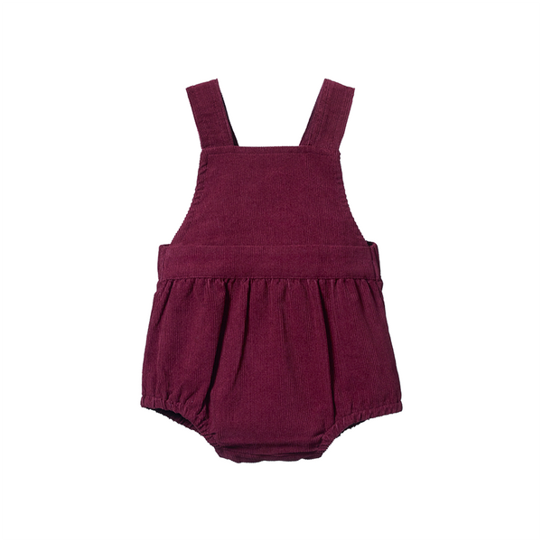 Nature Baby Georgie Romper - Elderberry