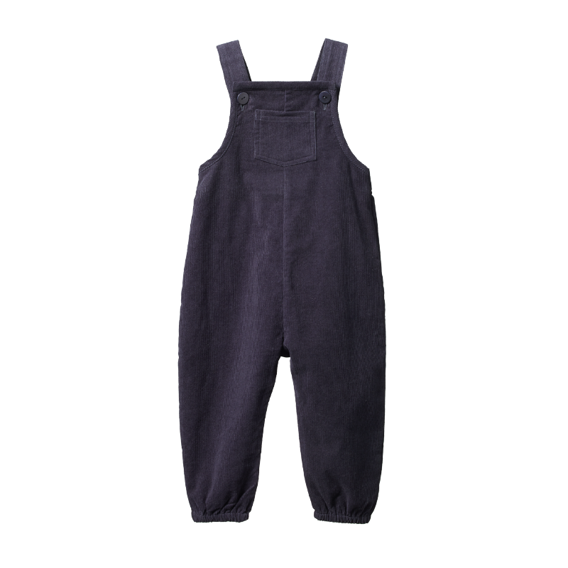 Nature Baby Tipper Overalls - Navy