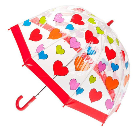 Birdcage Umbrella - Hearts - Shorties Childrens Store