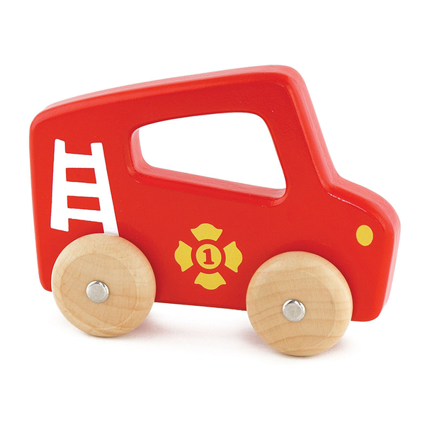 Viga Handy Vehicles - Fire Truck WOODEN CAR