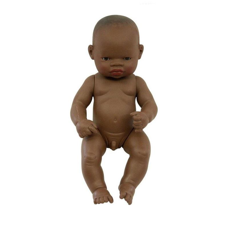Miniland Anatomically Correct Doll - Small African Boy