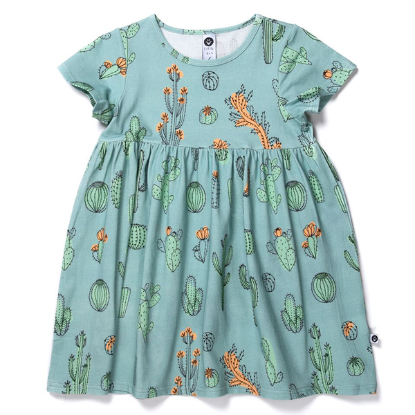 Littlehorn Cacti Dress Sage