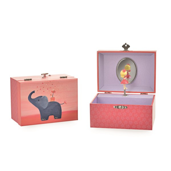 Musical Jewellery Box - Elephant