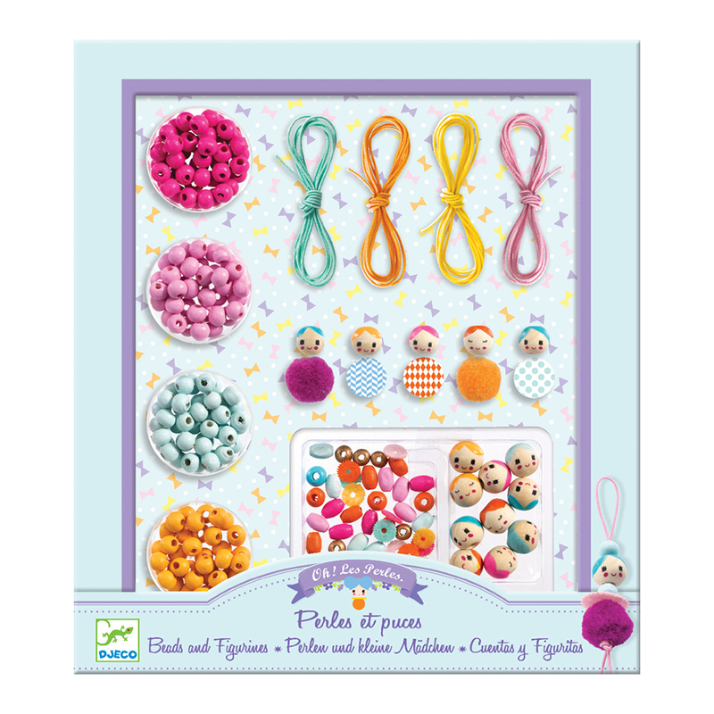 Djeco Beads And Figurines Set