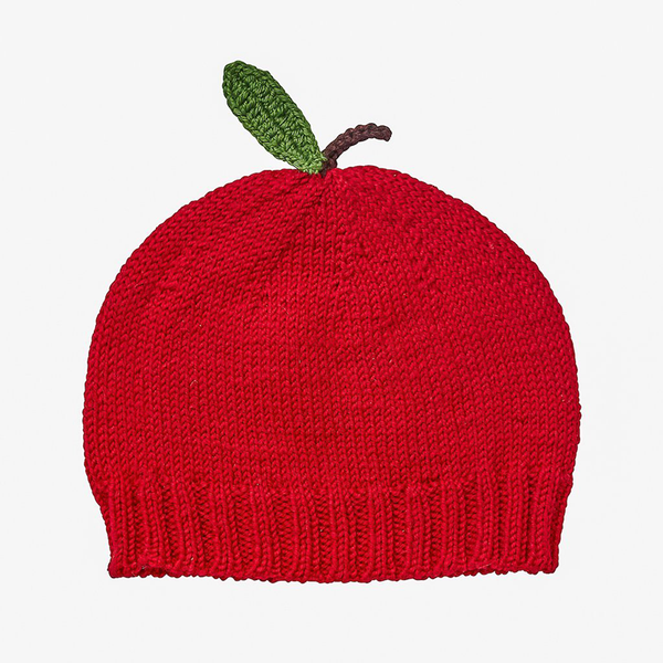 Acorn Apple Beanie - Red