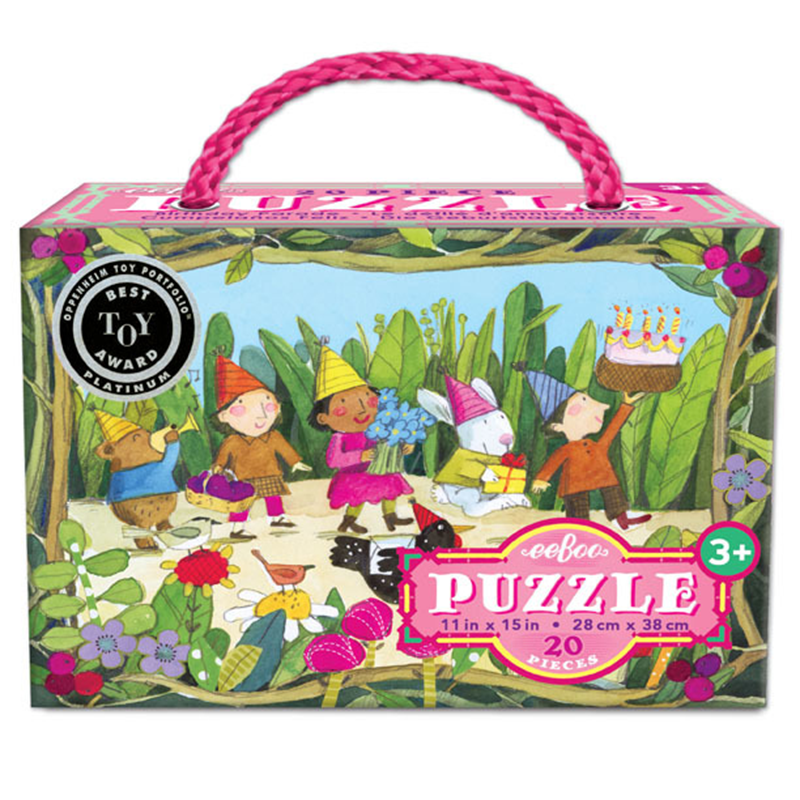 Eeboo 20PC Puzzle - Birthday Parade
