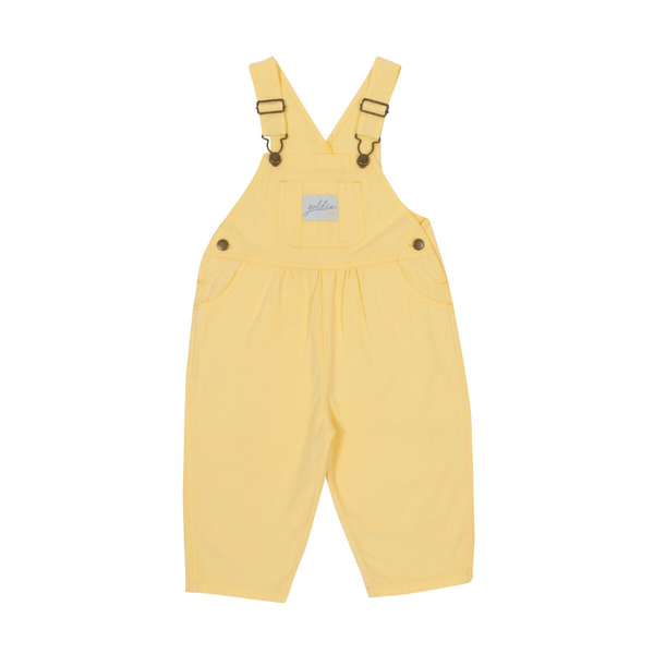 Goldie & Ace Cotton Drill Overalls - Lemon
