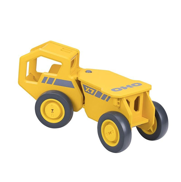 Moover OHO ride on Construction Truck Yellow in Shorties