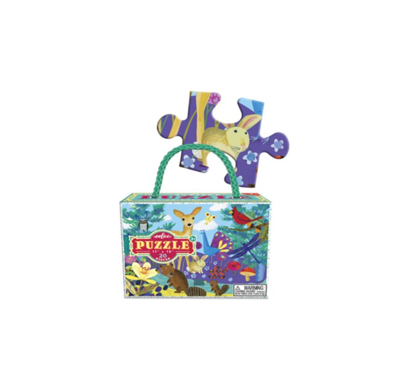 Eeboo 20 Pc Puzzle - Life On Earth
