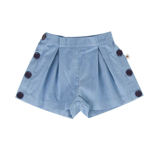 Peggy Ocean Shorts - Chambray