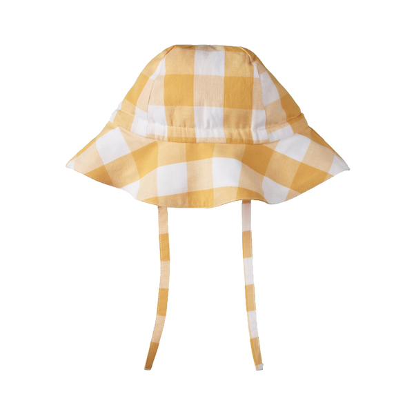 Nature Baby Sunhat - Honey Gingham