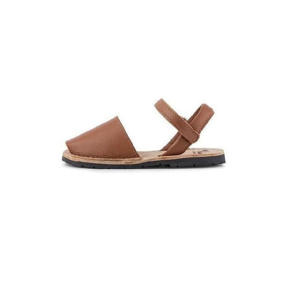 Vila Sandals - Tan Leather Made in Spain