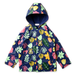 Minti Winter Foliage Raincoat - Navy