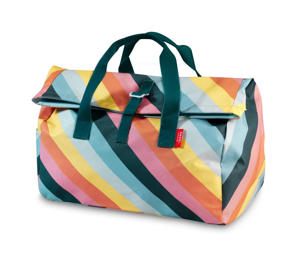 Engel Overnight Flip Bag - Rainbow Stripe