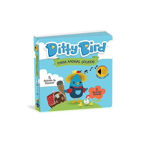 Ditty Bird Animal Sounds Book