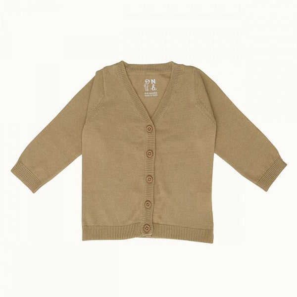 Nature Baby Light Cotton Cardi - Honey
