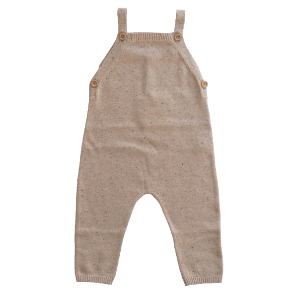 Grown Speckle Overalls - Fawn
