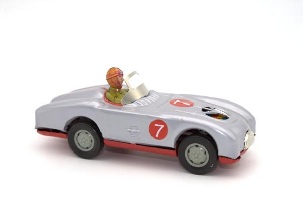 Tin Race Car No. 7